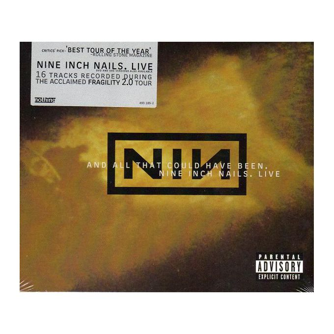 Nine Inch Nails - And All That Could Have Been. Live