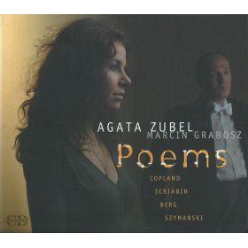 Agata Zubel, Marcin Grabosz - Copland, Scriabin, Berg, Szymański - Poems