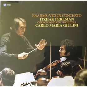 Brahms, Itzhak Perlman, Chicago Symphony Orchestra, Carlo Maria Giulini - Brahms: Violin Concerto