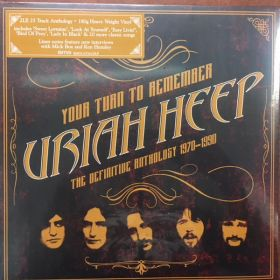 Uriah Heep - Your Turn To Remember - The Definitive Anthology 1970-1990
