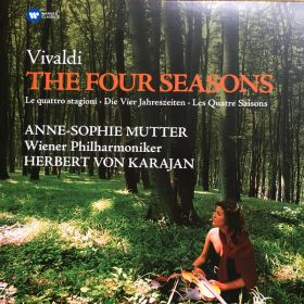 Vivaldi - Anne-Sophie Mutter, Wiener Philharmoniker, Herbert Von Karajan - The Four Seasons / Le Qua