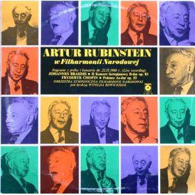 Artur Rubinstein, Johannes Brahms, Fryderyk Chopin, Orkiestra Symfoniczna Filharmonii Narodowej, Wit