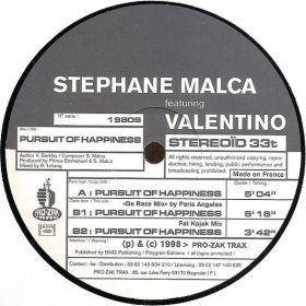 Stephane Malca - Pursuit Of Happiness