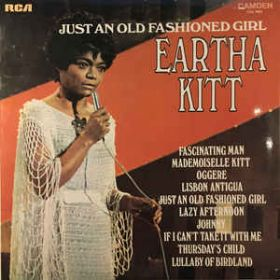 Eartha Kitt With Henri René And His Orchestra – Just An Old Fashioned Girl (1971, Vinyl)