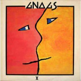 Gnags – X (1983, Vinyl)