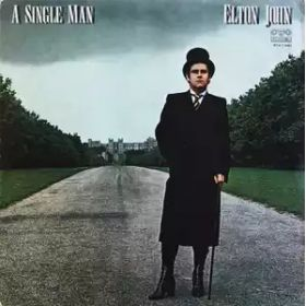 Elton John – A Single Man (1983, Dark blue labels, Vinyl)