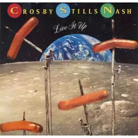 Crosby, Stills Nash – Live It Up (1990, Vinyl)