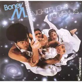 Boney M. – Nightflight To Venus (1978, Fourth Pressing, Gatefold, Vinyl)