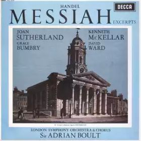 Handel, Joan Sutherland, Kenneth McKellar, Grace Bumbry, David Ward, London Symphony Orchestra Choru