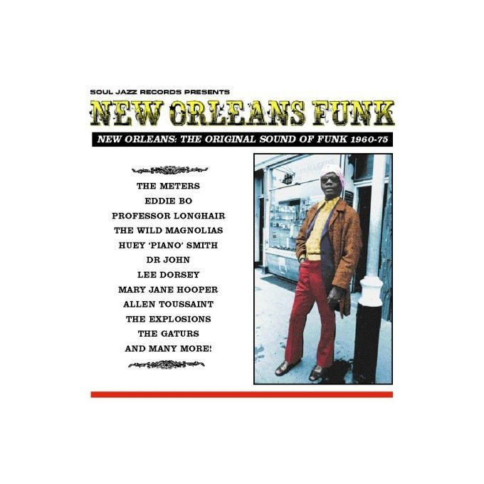 Various - New Orleans Funk (New Orleans: The Original Sound Of Funk 1960-75) (2011, Vinyl)