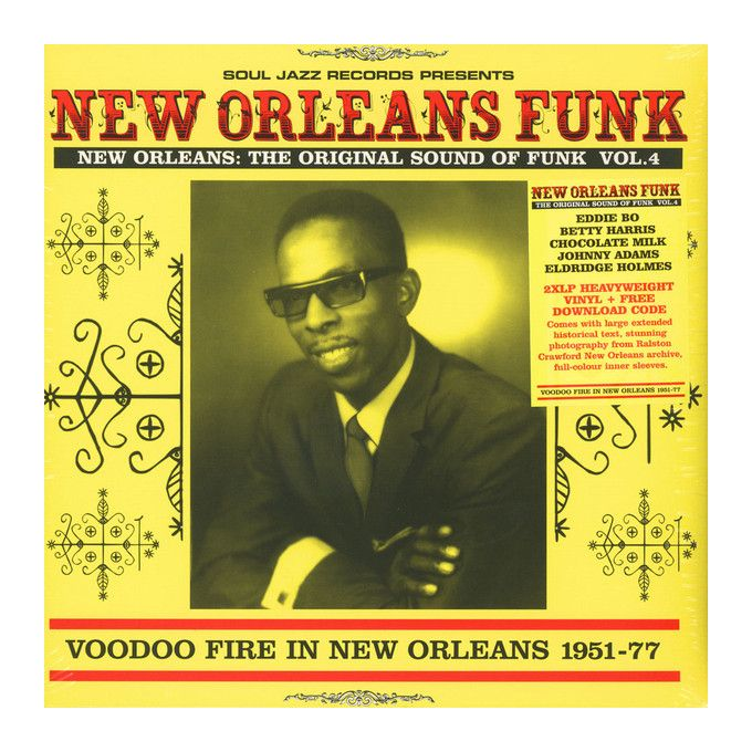 Various - New Orleans: The Original Sound Of Funk Vol.4 (Voodoo Fire In New Orleans 1951-77) (2016, Vinyl)