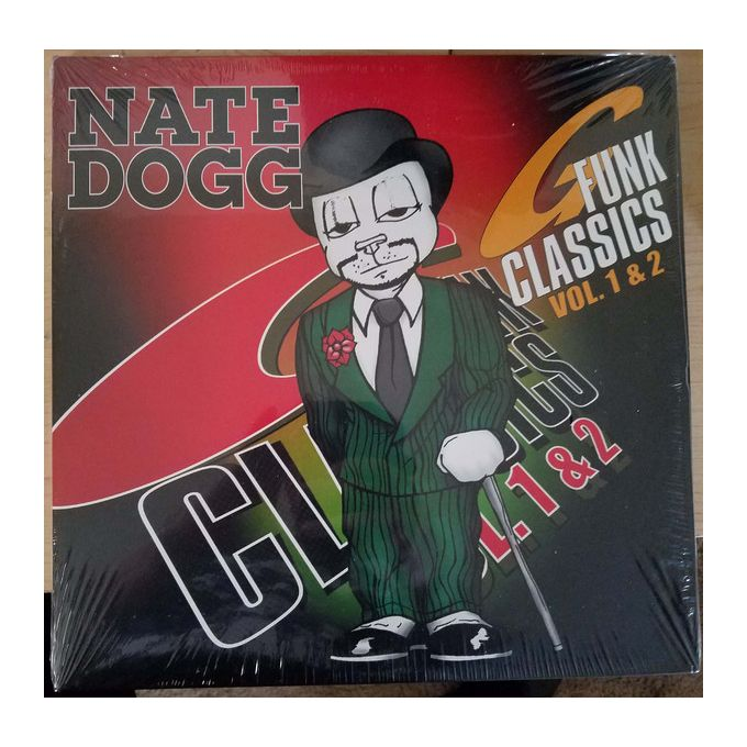 Nate Dogg - G Funk Classics Vol. 1 & 2 (2016, Gatefold, Vinyl)