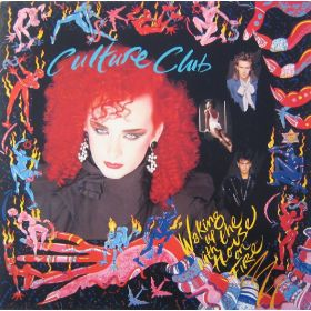 Culture Club - Waking Up With The House On Fire (1984, Vinyl)