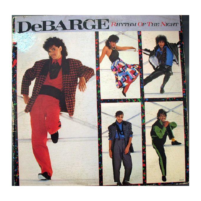 DeBarge - Rhythm Of The Night (1985, Vinyl)