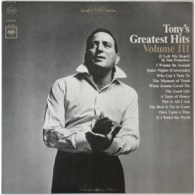 Tony Bennett - Tonys Greatest Hits Volume III (1965, Vinyl)