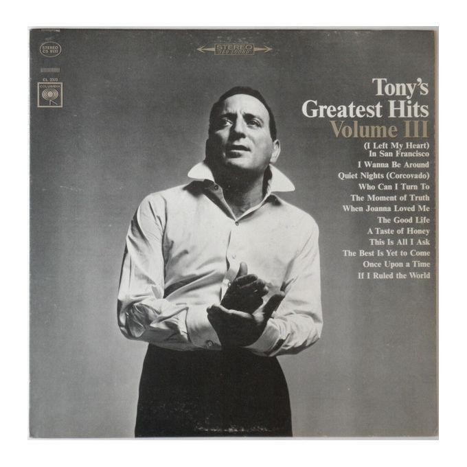 Tony Bennett - Tonys Greatest Hits Volume III (1965, Vinyl)