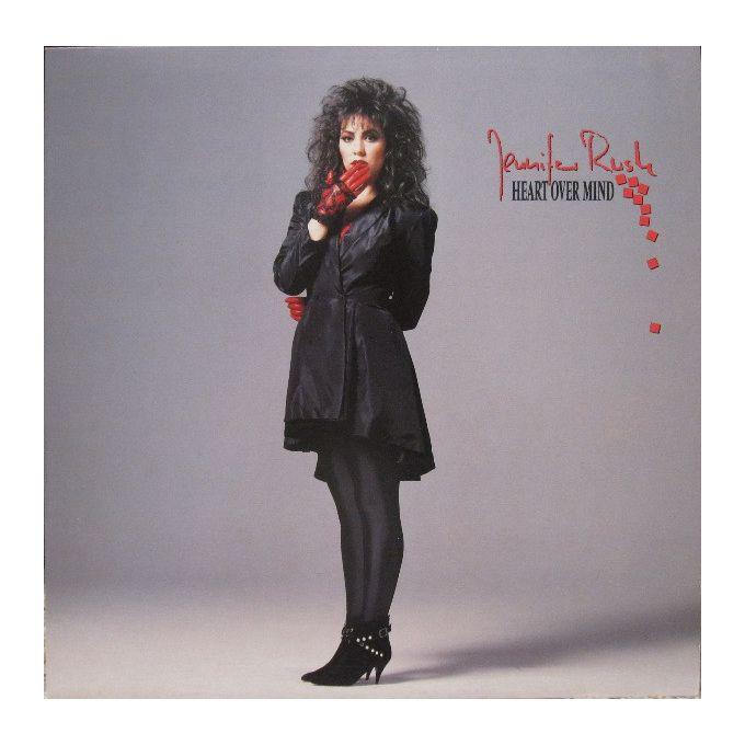 Jennifer Rush - Heart Over Mind (1987, Vinyl)