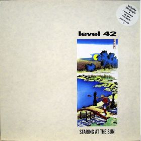Level 42 - Staring At The Sun (1988, Vinyl)