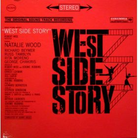 Leonard Bernstein - West Side Story (The Original Sound Track Recording) (1961, Gatefold, Vinyl)