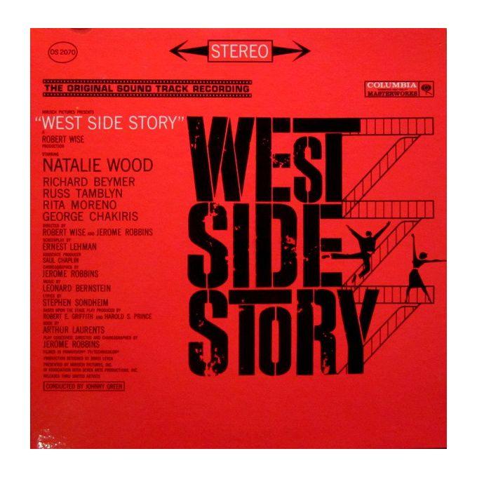 Leonard Bernstein - West Side Story (The Original Sound Track Recording) (1961, Gatefold, Vinyl)