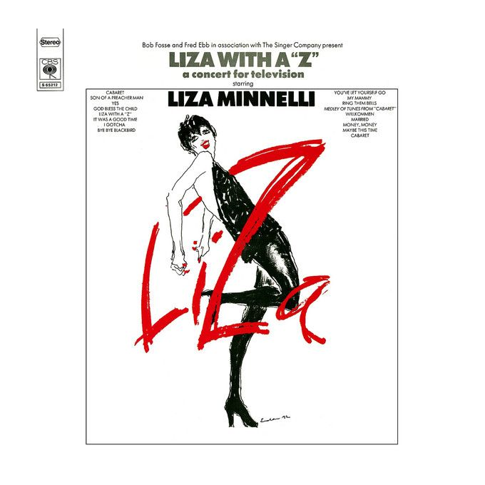 Liza Minnelli - Liza With A 'Z'. A Concert For Television (1972, Vinyl)