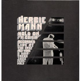 Herbie Mann - Hold On, Im Comin (1973, Gatefold Sleeve, Presswell Pressing, Vinyl)