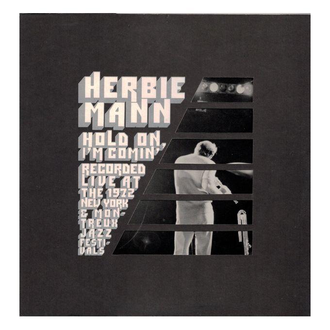 Herbie Mann - Hold On, Im Comin (1973, Gatefold Sleeve, Presswell Pressing, Vinyl)