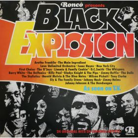 Various - Black Explosion (1974, Vinyl)
