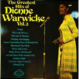 Dionne Warwick - The Greatest Hits Of Dionne Warwicke Vol. 2 (1973, Vinyl)