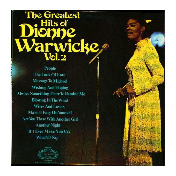 Dionne Warwick - The Greatest Hits Of Dionne Warwicke Vol. 2 (1973, Vinyl)