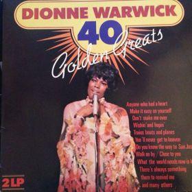 Dionne Warwick - 40 Golden Greats (Vinyl)
