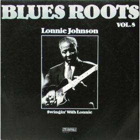 Lonnie Johnson (2) - Swingin With Lonnie (1981, Vinyl)