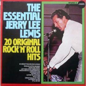 Jerry Lee Lewis - The Essential Jerry Lee Lewis - 20 Original RocknRoll Hits (1988, Vinyl)