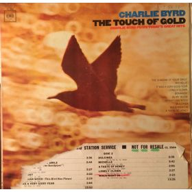 Charlie Byrd - The Touch Of Gold (Charlie Byrd Plays Todays Great Hits) (1966, Vinyl)