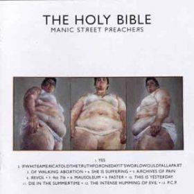 Manic Street Preachers - The Holy Bible (1994, CD)