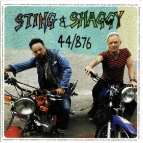 Sting & Shaggy - 44/876 (2018, CD)