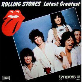 The Rolling Stones - Latest Greatest (1982, Beige Label, Vinyl)