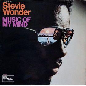 Stevie Wonder - Music Of My Mind (1972, Gatefold, Vinyl)
