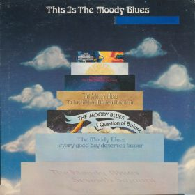 The Moody Blues - This Is The Moody Blues (1974, PRC, Richmond Pressing, Vinyl)