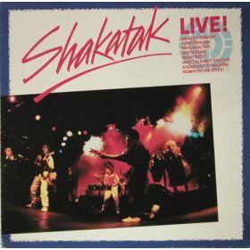 Shakatak - Live! (1985, Vinyl)