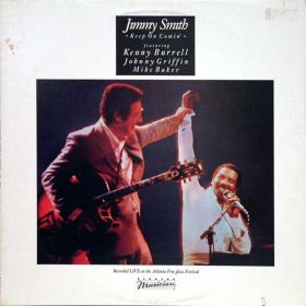 Jimmy Smith - Keep On Comin (1983, Vinyl)