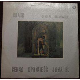 Crash (18) I Grażyna Łobaszewska - Senna Opowieść Jana B. (1979, Cream/Blue Label, Vinyl)
