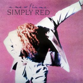 Simply Red - A New Flame (1989, Vinyl)