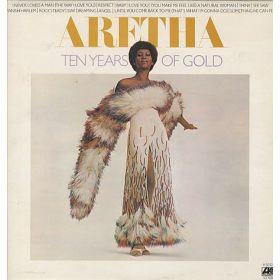 Aretha Franklin - Ten Years Of Gold (1976, PR, Vinyl)