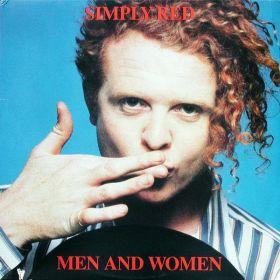 Simply Red - Men And Women (1987, Vinyl)