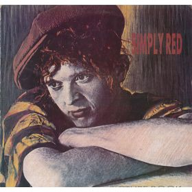 Simply Red - Picture Book (1985, Vinyl)