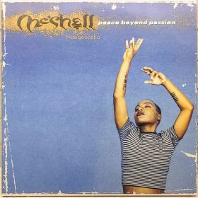 MeShell NdegéOcello - Peace Beyond Passion (2021, Crystal Clear, Solid Silver and Blue Mixed Vinyl, Vinyl)