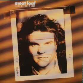 Meat Loaf - Blind Before I Stop (2021, Gold Black Marbled, Vinyl)
