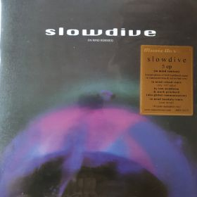Slowdive - 5 EP (In Mind Remixes) (2021, translucent blue & red swirled, Vinyl)