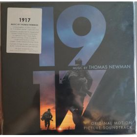 Thomas Newman - 1917 (Original Motion Picture Soundtrack) (2020, Green And Silver Swirled, 180g, Vinyl)